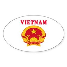Vietnam Coat Of Arms Designs Decal