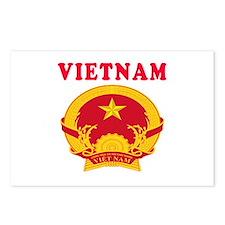 Vietnam Coat Of Arms Designs Postcards (Package of