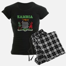 Zambia Coat Of Arms Designs Pajamas