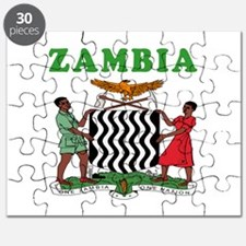 Zambia Coat Of Arms Designs Puzzle