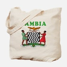 Zambia Coat Of Arms Designs Tote Bag