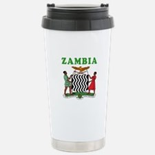 Zambia Coat Of Arms Designs Travel Mug