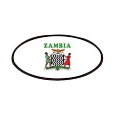 Zambia Coat Of Arms Designs Patches