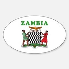 Zambia Coat Of Arms Designs Decal