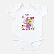 Princess 2nd Birthday Infant Bodysuit