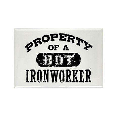 Property of a Hot Ironworker Rectangle Magnet
