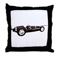Boyle Maserati Indy Car Throw Pillow