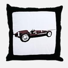 Boyle Maserati Indy Car Throw Pillow