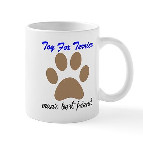 Toy Fox Terrier Mans Best Friend Small Mug
