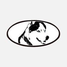 Siberian Husky Sled Dog Patches