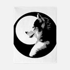 Siberian Husky Duvet Cover Sled Dog Twin Duvet