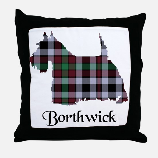 Terrier - Borthwick Throw Pillow