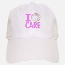 I Donut Care Baseball Baseball Baseball Cap