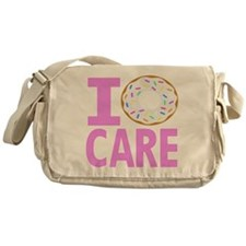 I Donut Care Messenger Bag
