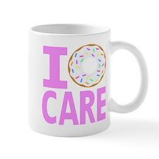 I Donut Care Small Mug