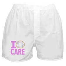 I Donut Care Boxer Shorts