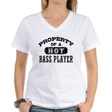Property of a Hot Bass Player Shirt