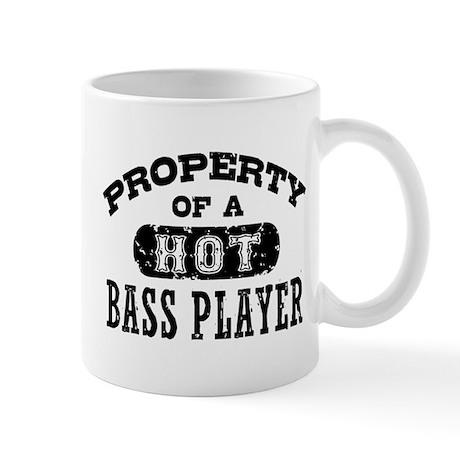 Property of a Hot Bass Player Mug