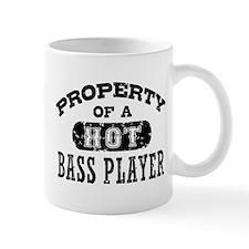 Property of a Hot Bass Player Small Mug