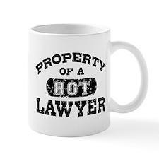 Property of a Hot Lawyer Small Mug