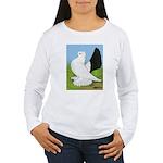 Russian Pigeon Women's Long Sleeve T-Shirt