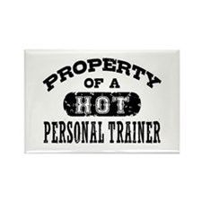 Property of a Hot Personal Trainer Rectangle Magne