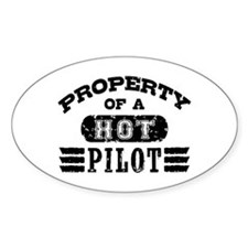 Property of a Hot Pilot Decal
