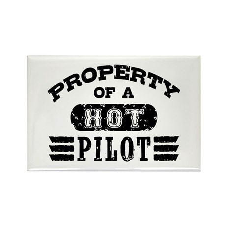 Property of a Hot Pilot Rectangle Magnet