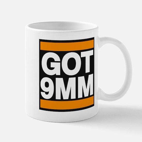 got 9mm orange Mug