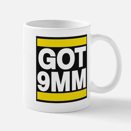 got 9mm yellow Mug