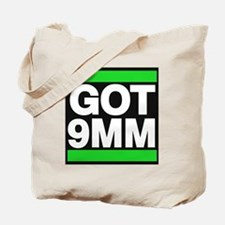 got 9mm green Tote Bag