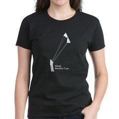 iQuad, therefore I am.<br> Women's Dark T-Shirt