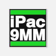 ipac 9mm green Sticker
