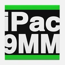 ipac 9mm green Tile Coaster