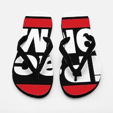 ipac 9mm red Flip Flops