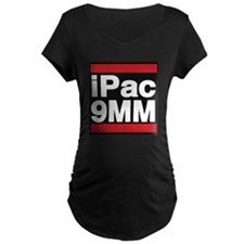 ipac 9mm red Maternity T-Shirt