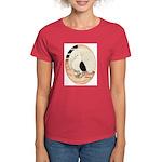70s Indian Fantail Pigeon Women's Dark T-Shirt