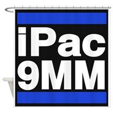 ipac 9mm blue Shower Curtain