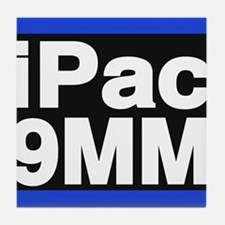 ipac 9mm blue Tile Coaster