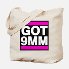 Got 9mm pink Tote Bag
