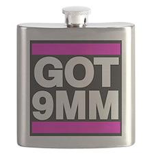 Got 9mm pink Flask