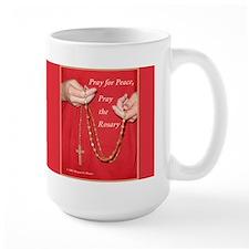 Pray Rosary Mug