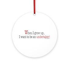 ... undertaker Ornament (Round)