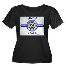 102nd Infantry Division Ozark Plus Size T-Shirt