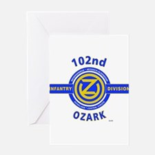 102nd Infantry Division Ozark Greeting Card