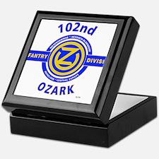 102nd Infantry Division Ozark Keepsake Box