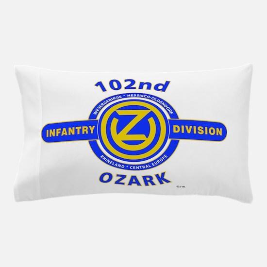 102nd Infantry Division Ozark Pillow Case