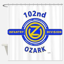 102nd Infantry Division Ozark Shower Curtain