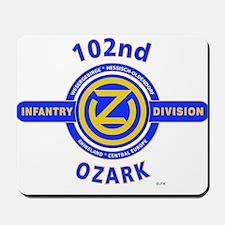 102nd Infantry Division Ozark Mousepad