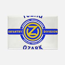 102nd Infantry Division Ozark Rectangle Magnet